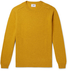 NN07 Nathan Brushed-Wool Sweater