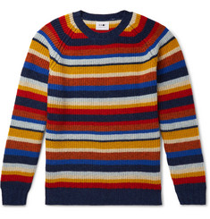 NN07 - Striped Wool Sweater