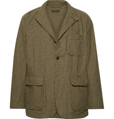 Engineered Garments Unstructured Puppytooth Woven Blazer