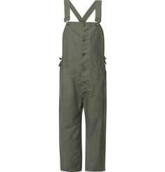 Engineered Garments Cotton-Canvas Overalls
