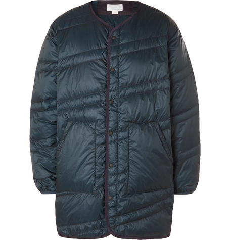 Nanamica Jackets QUILTED NYLON-RIPSTOP DOWN JACKET