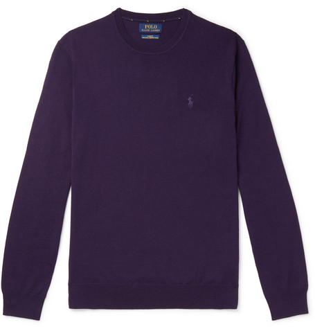 Polo Ralph Lauren Slim-Fit Merino Wool Sweater