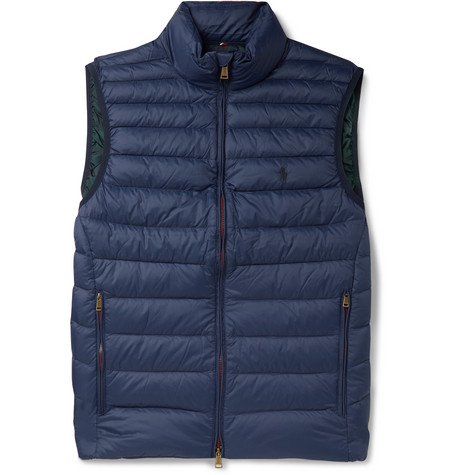 Polo Ralph Lauren Reversible Quilted Shell Down Gilet