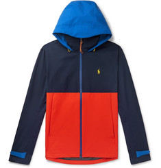 Polo Ralph Lauren Colour-Block Shell Hooded Jacket
