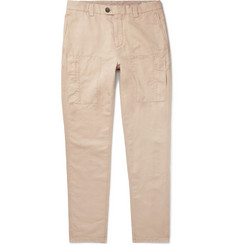 Brunello Cucinelli - Linen and Cotton-Blend Trousers