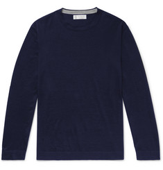 Brunello Cucinelli Cashmere and Silk-Blend Sweater