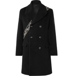 AMIRI Embellished Wool-Blend Coat