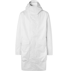 Nike Tech Pack Oversized Linen and Cotton-Blend Canvas Hooded Parka