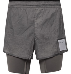 Satisfy - Coffee Thermal Short Distance Ripstop and Justice Shorts