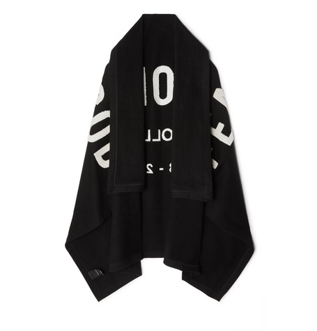 Fear of God Logo-Appliquéd Loopback Cotton-Jersey Blanket