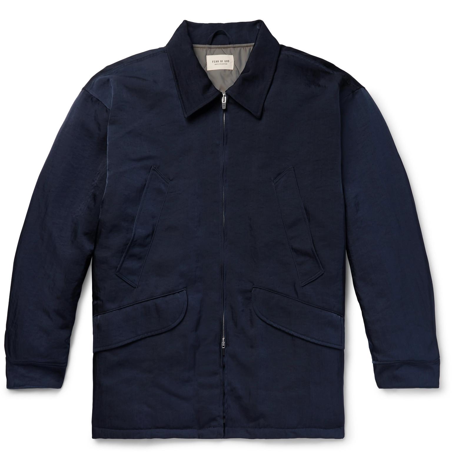 Fear of God - Oversized Nylon-Twill Field Jacket