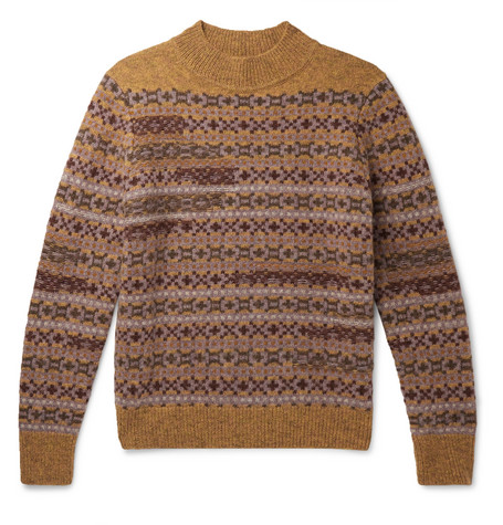 Isabel Marant Nills Fair Isle Wool Sweater