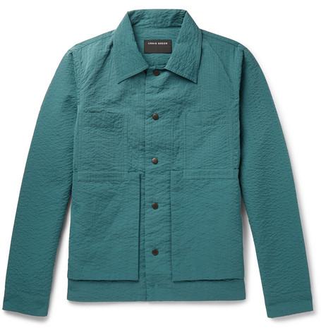 Seersucker Chore Jacket by Craig Green