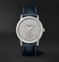 Vacheron Constantin Traditionnelle Excellence Platine Hand-Wound 38mm Platinum and Alligator Watch, Ref. No. 82172/000P-