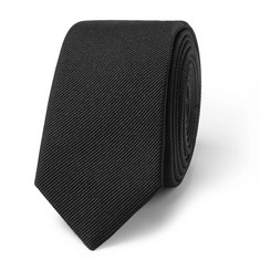 SAINT LAURENT - 5cm Silk-Faille Tie