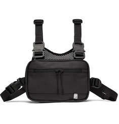 1017 ALYX 9SM Faux Leather and Mesh Chest Rig