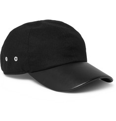 1017 ALYX 9SM Stretch-Wool Twill and Leather Baseball Cap