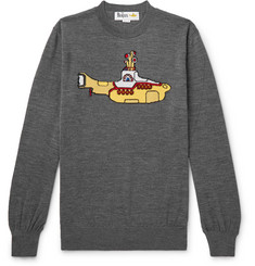 Stella McCartney + The Beatles Intarsia Virgin Wool Sweater
