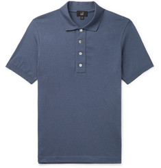 Dunhill Knitted Cotton Polo Shirt