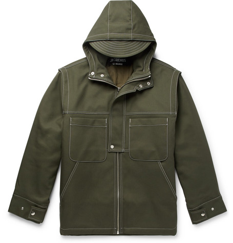 Canvas Hooded Jacket by Jacquemus