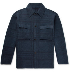 Jacquemus Checked Wool Overshirt