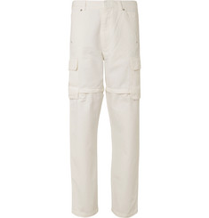 Jacquemus Zip-Detailed Canvas Cargo Trousers