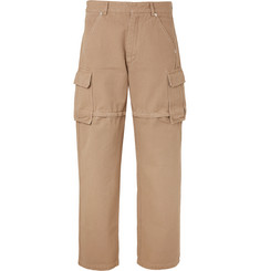 Jacquemus Cotton-Canvas Zip-Off Cargo Trousers