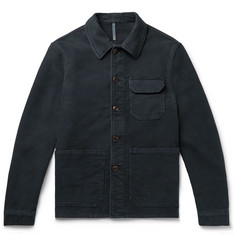 Incotex Cotton-Moleskin Jacket