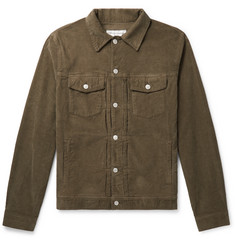 Officine Generale - Liam Cotton-Blend Corduroy Overshirt