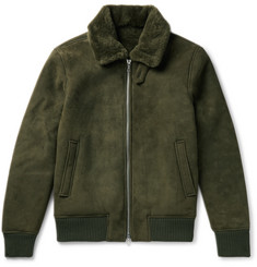 Officine Generale - Saul Shearling Bomber Jacket
