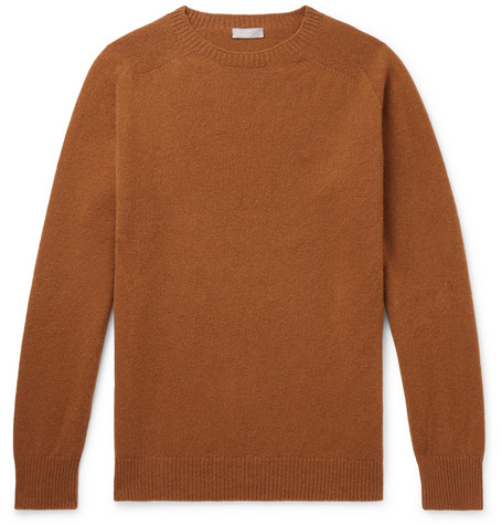 Margaret Howell Merino Wool and Cashmere-Blend Sweater