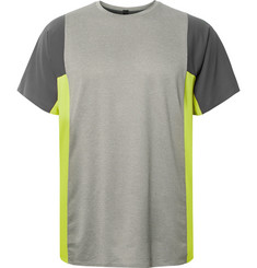 Lululemon - + Robert Geller Take the Moment Stretch-Mesh T-Shirt