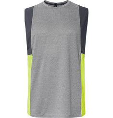 Lululemon - + Robert Geller Take the Moment Stretch-Mesh Tank Top