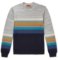 Missoni Striped Cashmere-Blend Sweater
