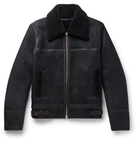 Shearling Bomber Jacket by Ps Paul Smith