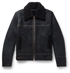 PS Paul Smith Shearling Bomber Jacket