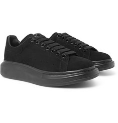 Alexander McQueen - Exaggerated-Sole Suede Sneakers