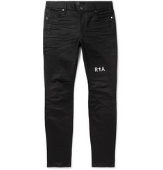 RtA Logo-Embroidered Denim Jeans