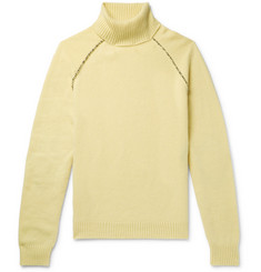 Alanui Appliquéd Cashmere Rollneck Sweater