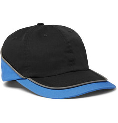 AFFIX Colour-Block Cotton-Twill Baseball Cap