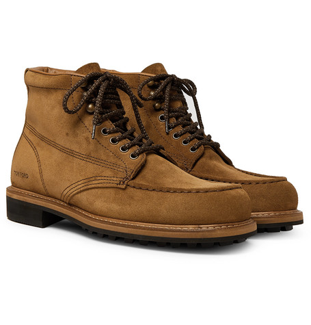 Cromwell Suede Boots by Tom Ford