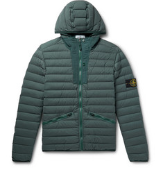 Stone Island - Slim-Fit Quilted Nylon Hooded Down Jacket