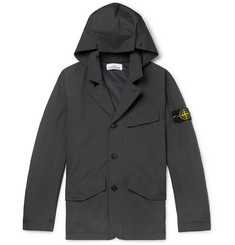Stone Island Packable Garment-Dyed GORE-TEX Hooded Jacket