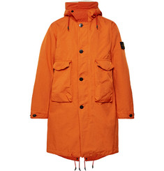 Stone Island David-TC Garment-Dyed Shell Hooded Parka