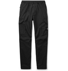Stone Island Slim-Fit Tapered Garment-Dyed Cotton-Blend Ripstop-TC Cargo Trousers