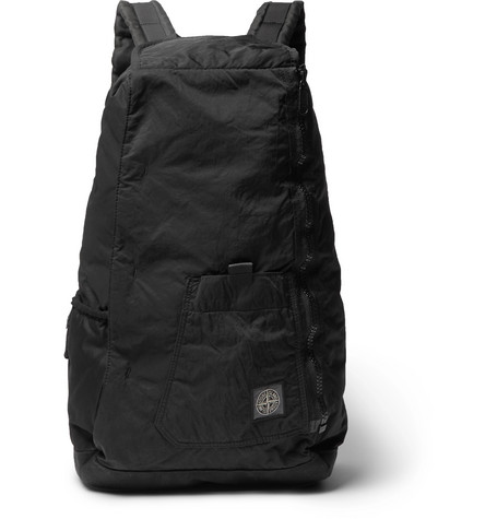 Garment Dyed Shell Backpack by Stone Island
