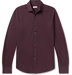 Incotex Cotton-Piqué Shirt
