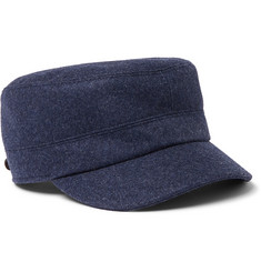 Brunello Cucinelli - Virgin Wool Baker Boy Cap