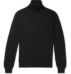 TOM FORD - Cashmere and Silk-Blend Rollneck Sweater