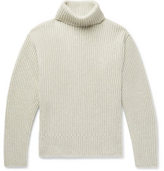 TOM FORD - Ribbed Cashmere Rollneck Sweater